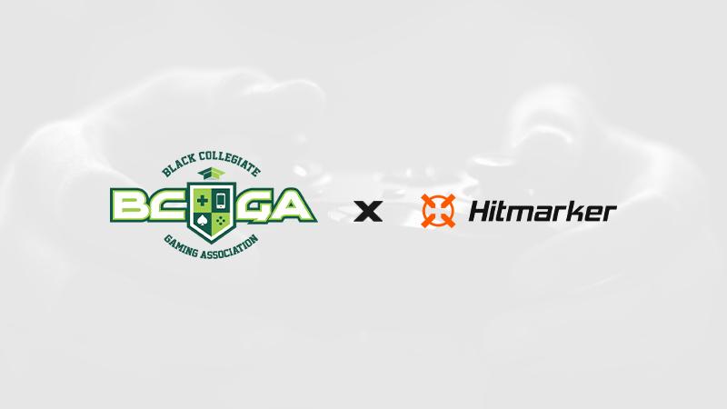 Hitmarker x the Black Collegiate Gaming Association Press Release